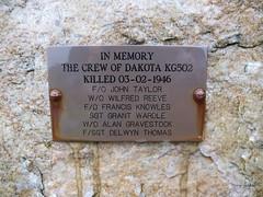 Douglas Dakota MK II KG502 (Remains of) (CAMRA Man ...) Tags: weather fog fire cloudy crashed aircraft wwii cumbria sortie hillside fragments crashsite geltsdale crosbyoneden douglasdakotakg502