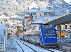 X72691/692 (Oliver_A) Tags: train alpes gare paca cote provence azur sncf ter briancon xter x72500 x72692 x72691