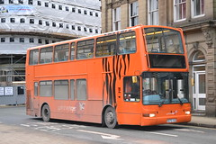 Yorkshire Tiger 880 X675YUG (Will Swain) Tags: uk travel england west bus buses town britain yorkshire tiger north transport january east vehicles calder valley vehicle halifax 16th seen arriva 880 675 2016 calderdale x675yug