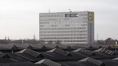 Krupplandschaft (Tim Boric) Tags: industry factory fabrik bochum industrie fabriek hochhaus krupp thyssenkrupp