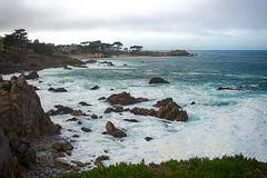 Lover's point, 12 February 2016 (nosha) Tags: ocean california ca blue sea usa seascape water beautiful beauty landscape coast pacific pg shore pacificgrove nosha