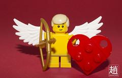 StupidCupid (mikechiu86) Tags: love day heart lego valentine valentines arrow cupid minifigure