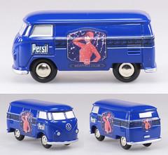 SCH-P-1835-Persil-VW (adrianz toyz) Tags: schuco piccolo 1835 persil volkswagen t1 transporter adrianztoyz vw van set aircooled