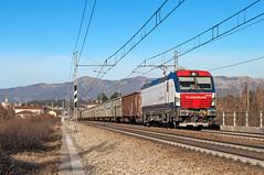 E 191 003 (Enrico Bavestrello) Tags: italy train nikon italia zug trains freighttrains lombardia trainspotting freighttrain ferrovia treni gterzug ferrovie cernuscolombardone cernusco vectron fuorimuro e191 nikond5000 inrail e191003 e191fm e191inrail