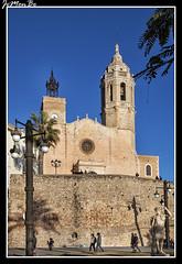 Iglesia de San Bartolom y Santa Tecla (jemonbe) Tags: barcelona sitges garraf barroco santatecla sanbartolom jemonbe
