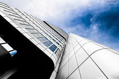 The Silver Tower Mainhatten (Steffen Dufner Photography) Tags: architecture canon frankfurt 1018 mainhatten 60d