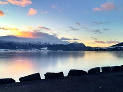 Norway at its best (henhog98) Tags: winter sea nature water norway reflections landscape colorful silent fjord wonderland winterwonderland vibe