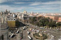 Madrid from the Palacio De Cibeles (~Rob~) Tags: madrid de cibeles palacio