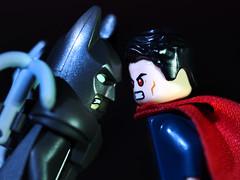 Batman vs Superman Lego (toyzfanatic) Tags: lego superman batman vs batmanvssuperman 76044 legominifigures clashofheroes