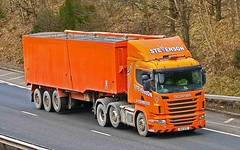 SCANIA R440 - STEVENSON Avonbridge (scotrailm 63A) Tags: stevenson trucks lorries