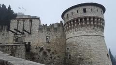 Torre Castello di Brescia (marco_ask) Tags: torre ponte castello brescia architettura bastione bandiere terrapieno torrione allaperto pontelevatoio brixia mesefebbraio
