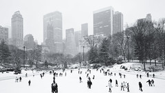 Sunday in the Park (ShutterJack) Tags: park snow ice skyline fun nikon cityscape centralpark iceskating skate rink jameshale jimhale shutterjack
