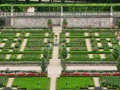 2009 08 03 Francia - Centro - Villandry - Castelli della Loira - Giardini_1986 (Kapo Konga) Tags: parco centre francia castello villandry giardino aiuola castellidellaloira