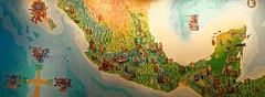 _DSC3520 Panorama_136791.jpg (Liseykin) Tags: mexico mexicocity museonacionaldeantropologia mexico    mapoftheancientpeoplesofmexico mapadelosantiguospueblosdemexico
