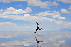 Salar de Uyuni (lncognito) Tags: bolivia nubes salar sal reflejos saltflat saltpan potosi salardeuyuni