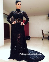 Sunny Leone in High Collar Black Lace Gown by Rohini Gugnani (shaf_prince) Tags: gowns diamondjewellery sunnyleone bollywoodactress designerwear filmfareawards celebritydresses indianfashiondesigners bollywooddesignerdresses actressingowns longtrailingdress actressinblackdresses fullsleeveddresses highcollarneckdesigns maheshnotandas filmfareawards2016