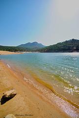 Playa (Marianel1) Tags: blue light sky espaa mountain luz beach water azul landscape spain agua nikon san montana martin juan playa pantano arena cielo vistas vacaciones valdeiglesias d3000 marianel1