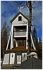 Funsdalen klokketrn og gravplass (3) (KvikneFoto) Tags: sweden churches sverige kirker funsdalen