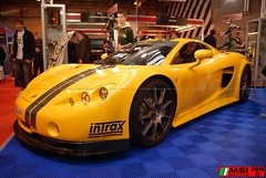 Ascari A10 Autosport NEC (13) (MSI Ireland) Tags: uk car spider birmingham nikon spyder special ascari supercar sportscar nec sportscars a10 autosport supersports carshows nikondslr autosportinternational worldcars ascaria10