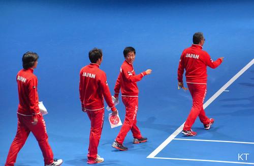 Yoshihito Nishioka - Japan's Davis Cup team