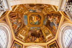 Atrium Ceiling At The Vatican (Peter Greenway) Tags: italy pope rome roma basilica ceiling papel atrium vaticanmuseum thevatican vaticancity basilicadisanpietro
