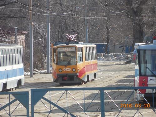 moscow special tram 0426 71-608KM