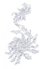 Extension Liquid (Alkaline Samurai) Tags: blue zig lineart inkart kuretake arlendean alkalinesamurai