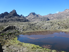Mount Kenya: view taken during the sescent (John Steedman) Tags: africa trek kenya afrika kenia afrique eastafrica mountkenya ostafrika     afriquedelest