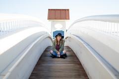 The Boardwalk (jrountree333) Tags: pictures wood lake cute girl portraits 35mm river 50mm nikon rocks spokane northwest bokeh coeur swing idaho boardwalk highkey 20mm lowkey amateur pnw dalene upperleft d3200 inw