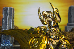 Totem du Belier SOG (Alreaph's Gallery) Tags: classic ex saint wall gold crystal mort soul revolution cloth ram mu mur cristal etoile sanctuary extinction myth stardust aries spirale bandai seiya asgard sog zodiaque starlight chevaliers sanctuaire belier tamashii jamir stellaire alreaph