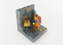 The LEGO Movie - The Piece of Gold-brickness (TheRoyalBrick) Tags: movie lego vignette moc emmet goldbrick foitsop