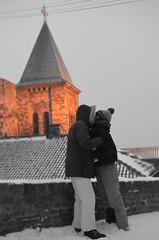 Love in Belgrade (Bojana Brkovic) Tags: winter snow love serbia neve inverno amore ruzica belgrado kalemegdan