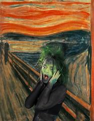 D30_7934_b2_The_Scream.JPG-1024 (realornot42) Tags: edvard bodypainting der munch wissenschaft schrei jaal