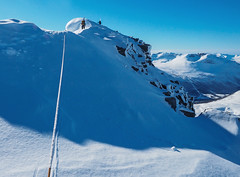 Nordryggen p Snfjellet. (gunnarhafss) Tags: mountain nature norway landscape norge natur fjell landskap mountainridge alpineclimbing nordmre snfjellet alpinklatring snfjell gunnarhafss gunnarhafsaas