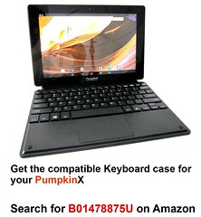 PumpkinX Android Tablet 10.1 Inch