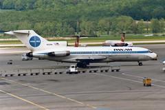 "Pan American World Airways - Pan Am Boeing 727-21 N319PA  ""Clipper Spreeathen"" (Kambui) Tags: airplane airplanes boeing zrich panam aviones avions kloten zrh flugzeuge  avies boeing727 aeroplani kambui  panamericanworldairwayspanam"