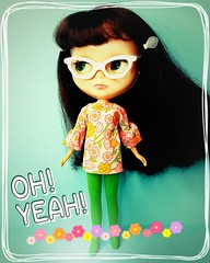 Anouk simply cannot get enough of sixties style mod looks  (endangeredsissy) Tags: mod handmade retro blythe blythedoll kennerblythe 365blythe endangeredsissy boutiqueanouk
