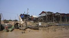 Tonle Sap Lake Village (picturesfrommars) Tags: cambodia kambodscha sap tonle a6000 selp1650