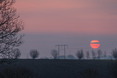 Pale morning on the Countryside (Infomastern) Tags: morning sky sunrise landscape dawn countryside himmel soluppgng morgon landskap sdersltt landsbygd gryning