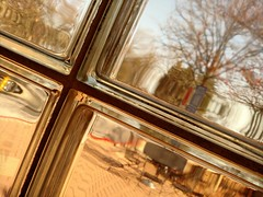 cameraphone trees distortion abstract blur window glass... (Photo: Thad Zajdowicz on Flickr)