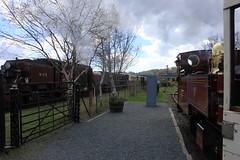 Russell & 138 (MylesBeevor) Tags: heritage wales russell tank cymru engine railway loco steam highland locomotive welsh porthmadog 138 garratt whr hunslet penymount whhr