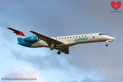 Luxair Embraer ERJ-145 (Aircraft Lovers) Tags: berlin plane germany airport aircraft aviation lovers flugzeug embraer tegel txl luxair planespotting berlinairport erj145 eddt erj145lu lxlgw aircraftlovers aircraftloverscom aircraftloversde