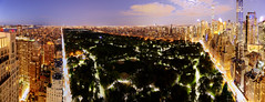Central Park Night Vista (Tony Shi Photos) Tags: city nyc newyorkcity panorama ny newyork architecture buildings cityscape skyscrapers centralpark pano citylife panoramic midtown ues upperwestside nightlife columbuscircle uppereastside uws centralparkwest 59thstreet trumpinternationalhotelandtower one57 432parkave billionairerow