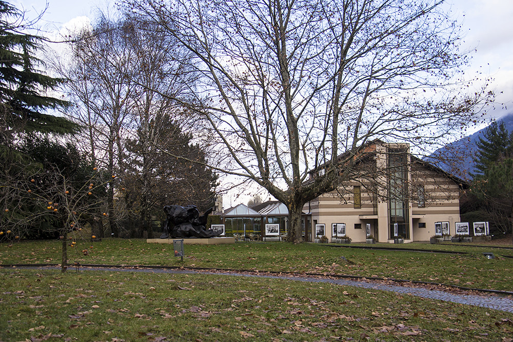Fondation Gianadda - Jardim da fundação