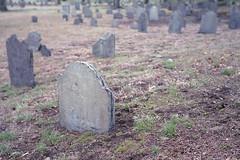 Bell Rock Cemetery (KevinCollins00) Tags: usa boston america 35mm nikon fuji unitedstates superia massachusetts newengland fujifilm nikonf3 malden asa400 expiredfilm xtra c41 filmphotography colorfilm colourfilm 135film