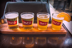Cheers! (A Great Capture) Tags: toronto ontario canada reflection mill cup beer glass st gold golden spring lemon photographer canadian brewery brew springtime on millst agc 2016 ald beerlove ash2276 adjm ashleylduffus wwwagreatcapturecom agreatcapture