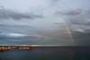 Arc de Sant Martí (Albert T M) Tags: arcoiris catalonia nubes catalunya blanes núvols catalogne arcdesantmartí arcdelcel pontdesantmartí ratlladesantmartí arcdesantjoan