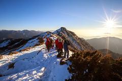 IMG_0408 (JIMI_lin) Tags: sunset snow taiwan  tw       hehuanmountain
