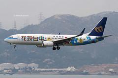 Mandarin Airlines (AE/MDA) / 737-8SH / B-18659 / Explore Taichung / 04-09-2016 / HKG (Mohit Purswani) Tags: travel canon photography hongkong transport taiwan landing 7d taichung boeing arrival hkg ae spotting skydeck 737 mda canon100400 observationdeck clk b737 planespotting 737800 cheklapkok boeing737800 boeing737 hkia 100400 738 b738 hongkonginternationalairport mandarinairlines speciallivery cheklapkokairport aviationphotography jetphotosnet jetphotos vhhh 25r specialscheme canon7d ahkgap b18659 exploretaichung