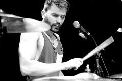 Atlanta Corp. (Priscila de Cássia) Tags: show brazil people blackandwhite musician music brasil contrast concert nikon drum pb drummer bateria música músico baterista nikond90 atlantacorp